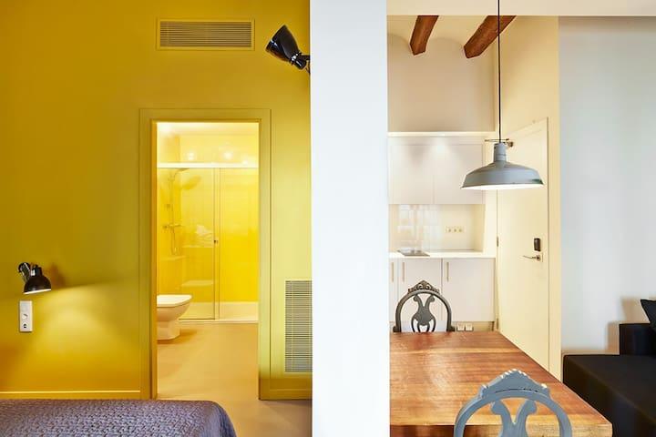 Apto. 3 pax en el Priorat - Falset - Appartamento