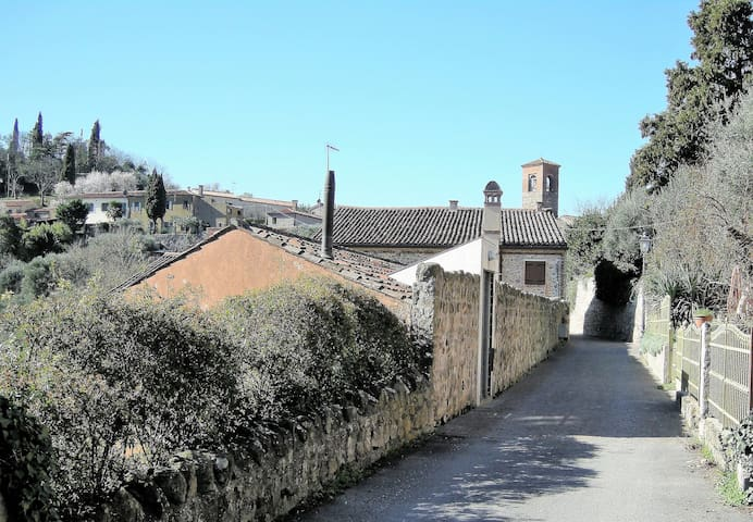 Holiday house in a beautiful medieval village. - Arquà Petrarca - Daire