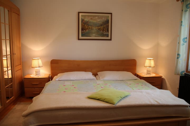 nice & cosy double room #1 in Bohinj - Savica - Bed & Breakfast