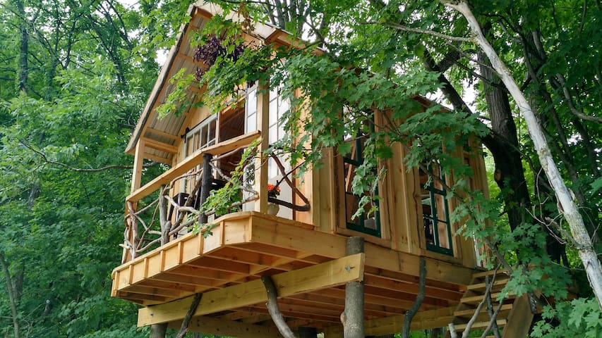 Whispering Wind Treehouse - Argyle - Tretopphus
