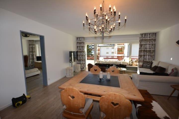 Möbelierte 2-Zimmerwohnung Zentrum Lenzerheide - Vaz/Obervaz - Appartement
