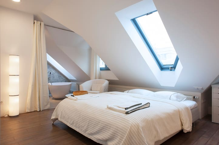 Charming room in Prague - Praga - Apartamento