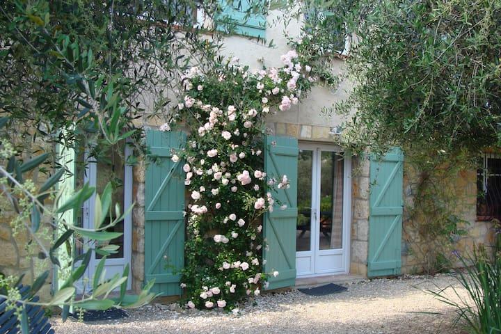 Studio calme en rez de chaussée, jardin provençal. - Le Rouret - Appartement en résidence