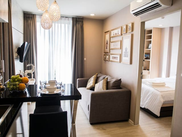 Brand-new room in hippest area. - Su Thep - Appartement