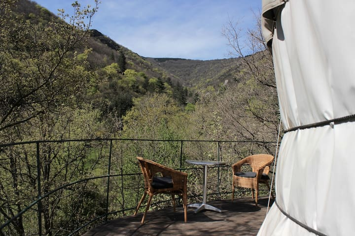 La Voix du Ruisseau (Small Yurt) - Graissessac - Jurta