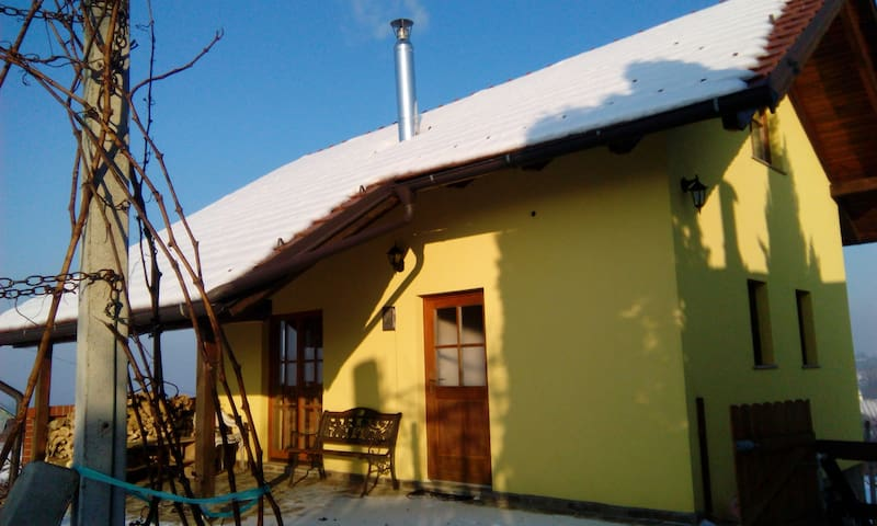 Vineyard house for relaxation with amazing view - Šprinc - Huis