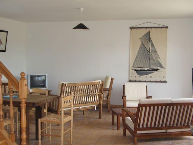 Gîte tout confort, 7 pers, proche plage, au calme - Quettreville-sur-Sienne - Naturstuga