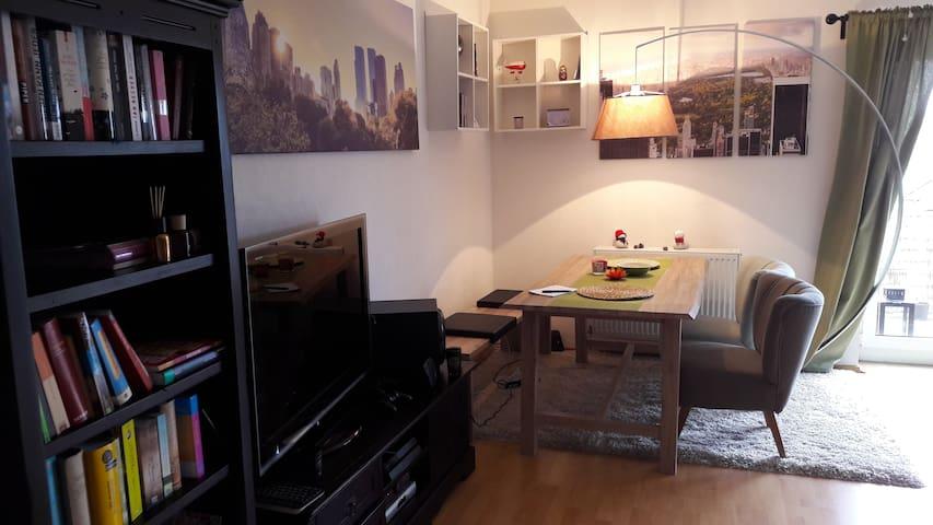Gemütliche zwei Etagen Wohnung - Herbsleben - 公寓