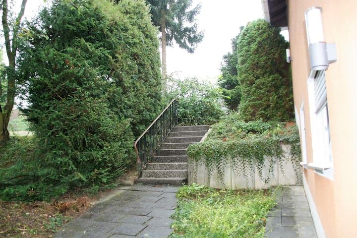 Gemütliche Wohnung im Westerwald - Gebhardshain - Appartement