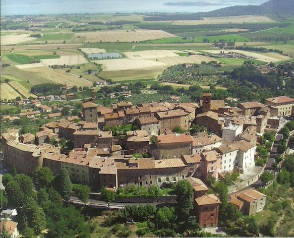 Casa Annemarie, peaceful oasis in historic centre - Panicale - アパート
