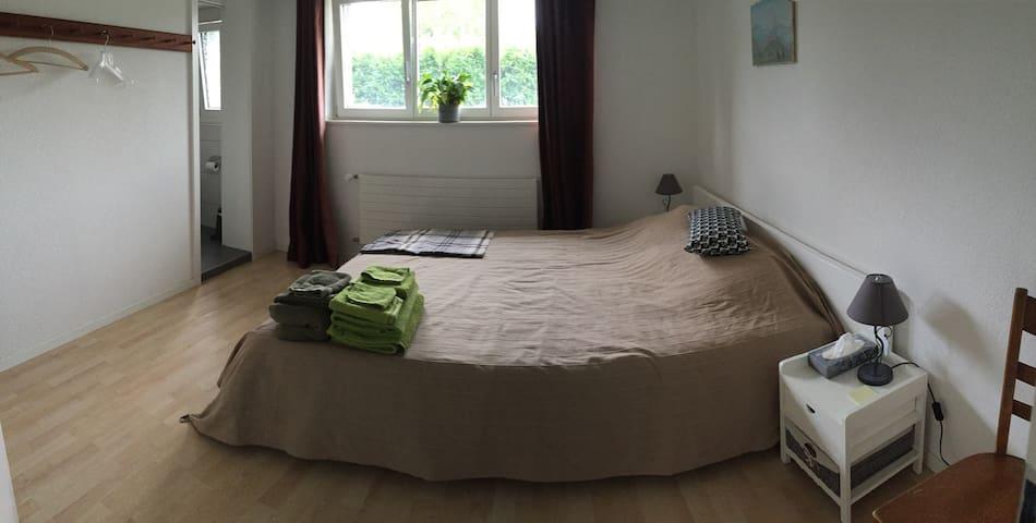 Nice room in a Swiss village - Cressier - Hus