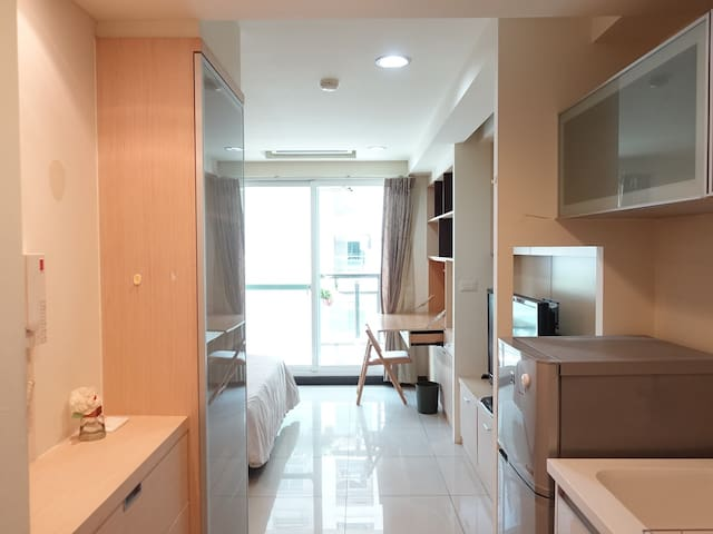 Lea's apartment in Tainan/ located in city center! - West Central District - Apartament