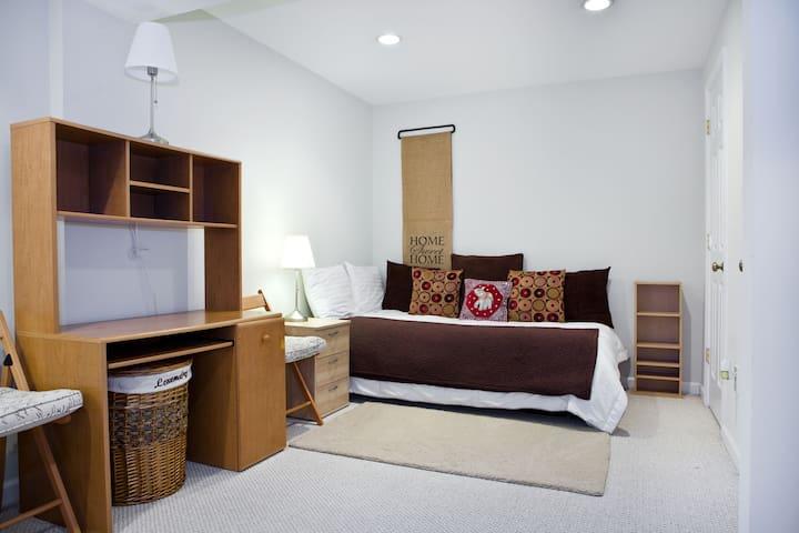 Cozy Single Bed #1/ Kensington MD - Кенсингтон - Дом