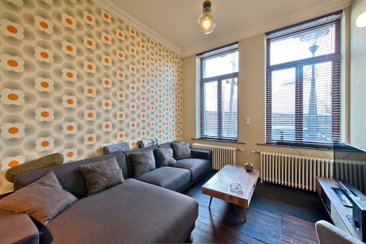 Duplex in city center (100m²) - Liège - Leilighet