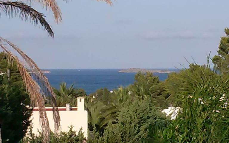 Casa independiente con piscina y terraza vista mar - Santa Eulària des Riu - House