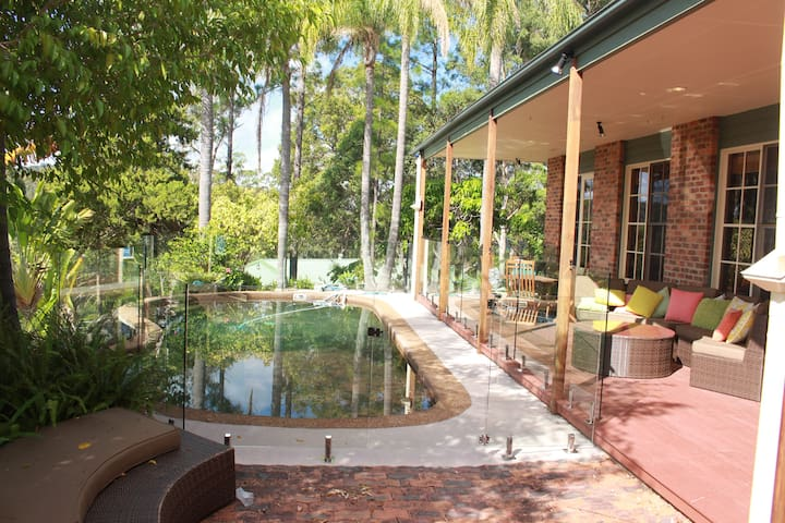 "The "" RANCH "" Gold Coast farm style accommodation - Mudgeeraba - Gästhus"