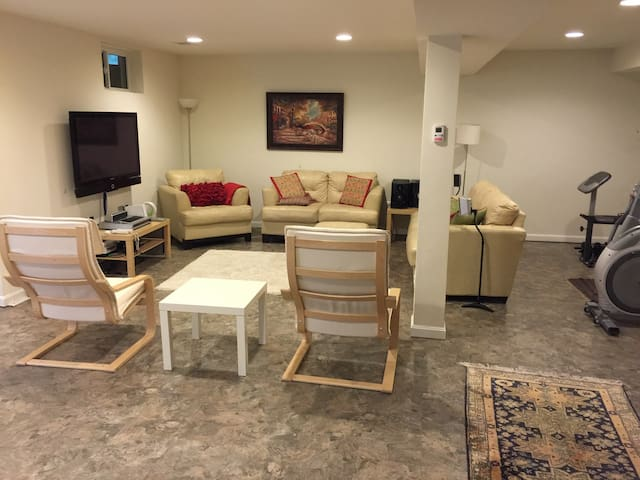 Bedroom in fully furnished basement - Gainesville - Dom