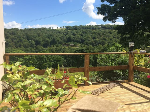 Cute stone cottage for two in the Ryburn Valley - Sowerby Bridge - Ev