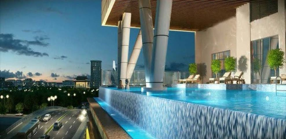 ★ 2BR Infinity Edge Pool Apartment - Ho Chi Minh City - Lakás