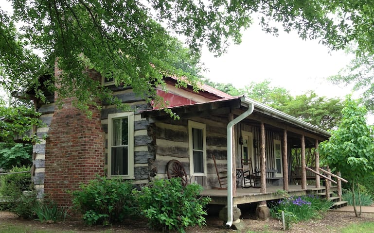 The Holly House log cabin - Alamo - Bed & Breakfast