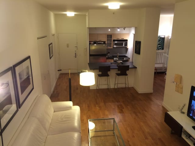 Tribeca one bedroom apt. - available Jan 13-30 - Нью-Йорк - Квартира