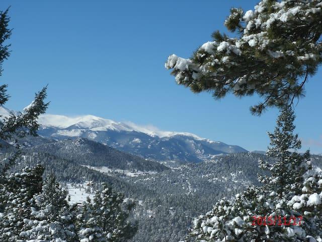 Himmelhaus Mountain Panorama - Evergreen