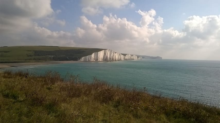 Home from Home B&B, private floor,dble rm&,bathrm - Seaford - Σπίτι