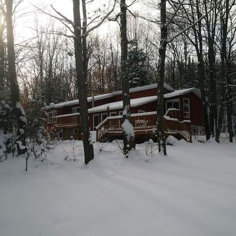 La Cabane - Val-des-Monts - Kabin