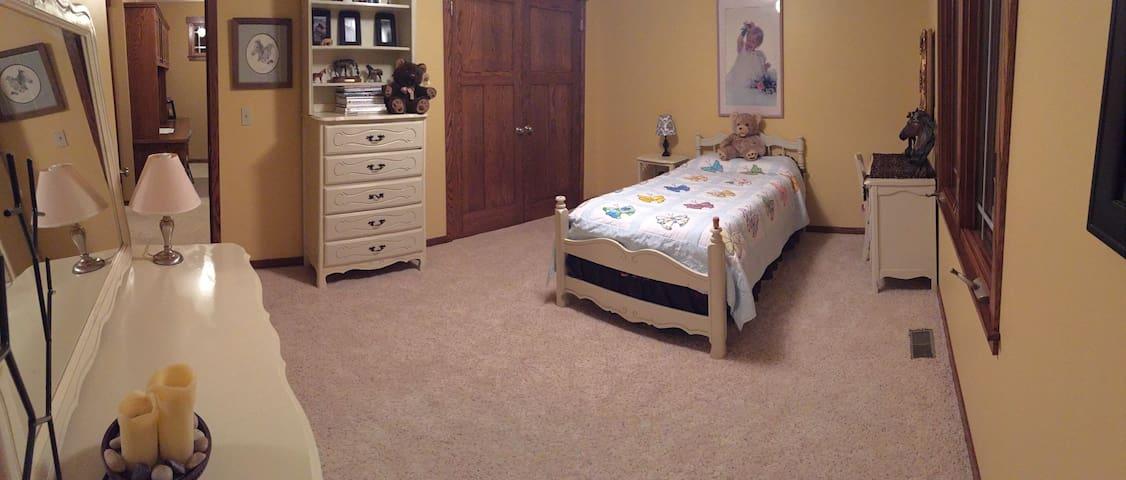 Twin Bed in Rm in Arts&Crafts home - Ham Lake - Ház