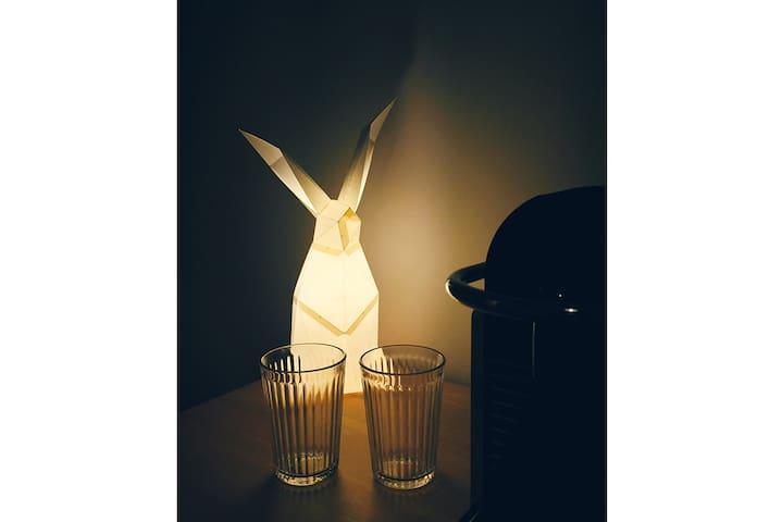 南锣鼓巷斜对面 | 高科技智能公寓 小白兔的柔软小窝 - Beijing - Lägenhet