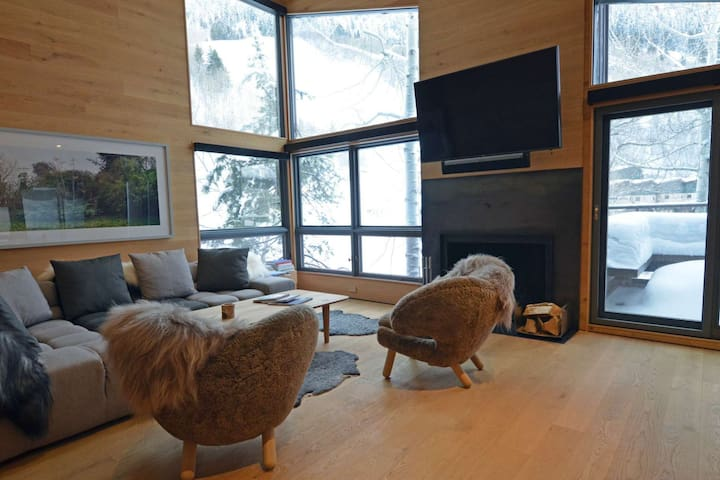 Premier ski-in/out property on Aspen Mountain with onsite hot tub. Great spring snow! - Aspen