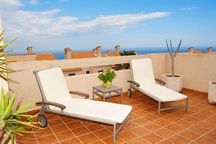 Bungalow 3 rooms | 4 terrace | freeWIFI - Gran Alacant - Dom