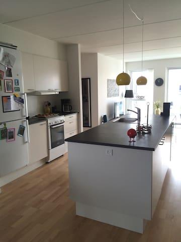 Family apartment in Copenhagen area - Herlev - Huoneisto
