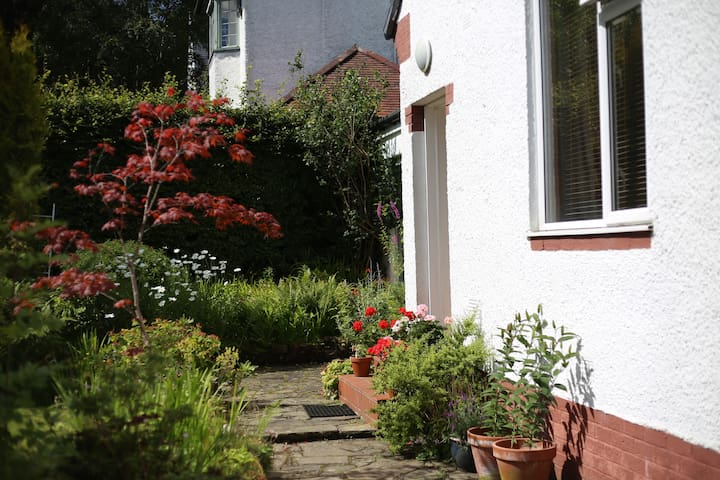 Cosy single room in lovely home - Bearsden - Bed & Breakfast