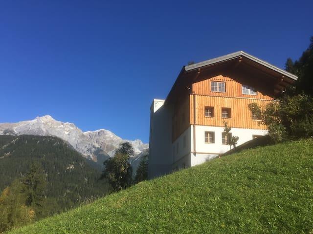 Bergappartements in Tirol - Tobadill - Leilighet