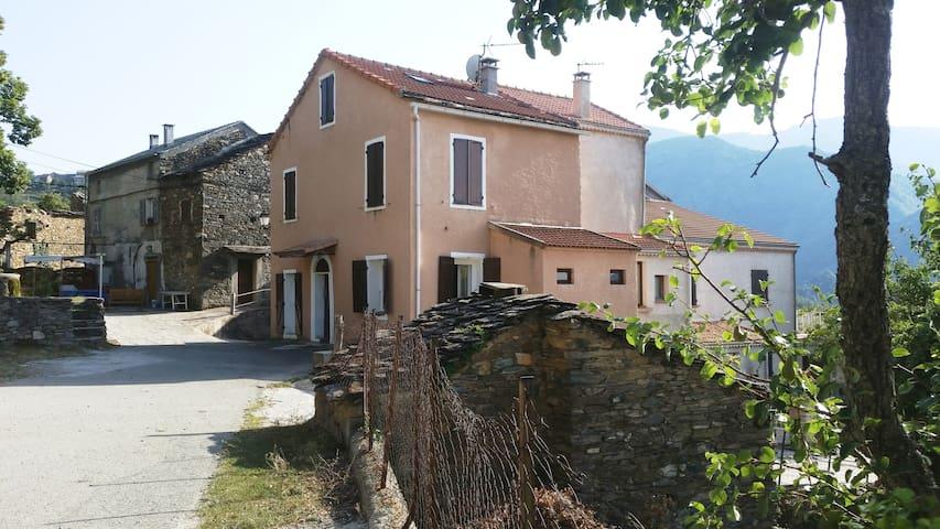 Grande maison village centre corse - Cambia - 단독주택