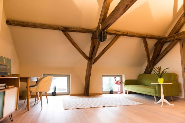 19th century - floor with private bathroom - Holsbeek