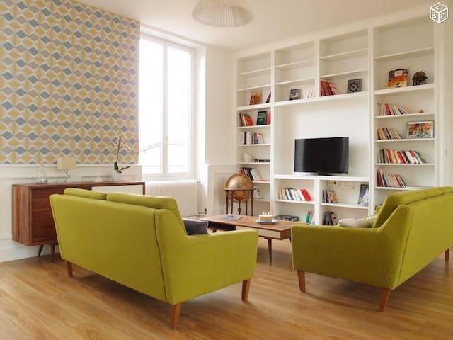 Chambre privée dans loft au coeur du beaujolais - Anse - Appartement