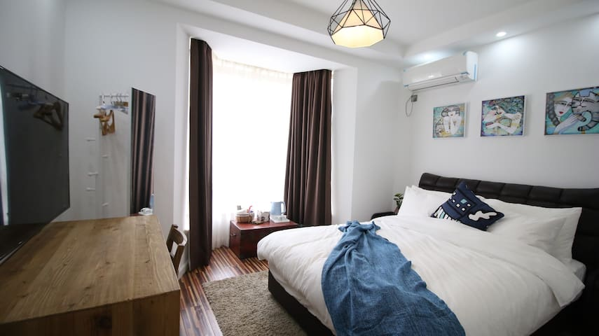 大樹下小墅之禧房---特价房198元起。我們所有做的全都源于您的到來 - Zhoushan