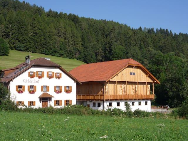 sehr ruhige Wohnung auf dem Bauernhof - Olang - Daire