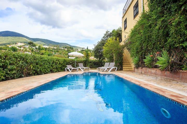 Cosy villa for 4 people with private pool and spa - Alhaurín el Grande