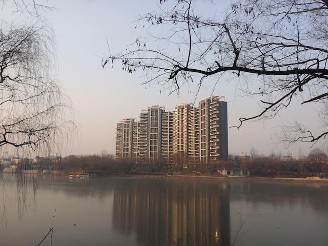 郑州南龙湖龙泊圣地地铁Sweethome俯瞰碧水茫茫享绿野仙踪闲适生活 - 郑州市