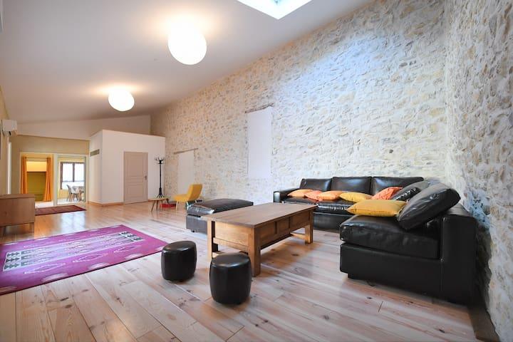"""La """"Casalinda"""":Appartement de charme à la campagne - Tornac - Appartement"""