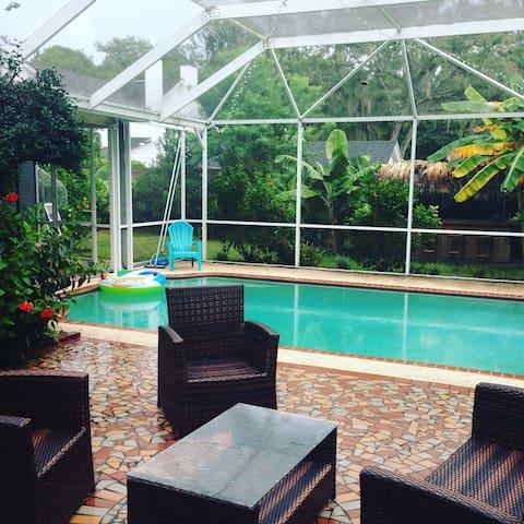 Poolside and Private Ortega/Avondale/NAS - Jacksonville - Gjestehus