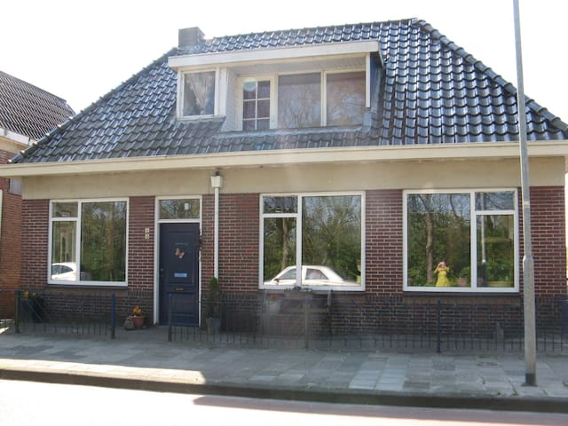 Gezellig oud Dijkhuis - Bad Nieuweschans - Hus