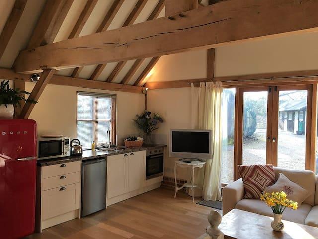 Pretty barn conversion holiday rental, New Forest - Rockbourne - Дом