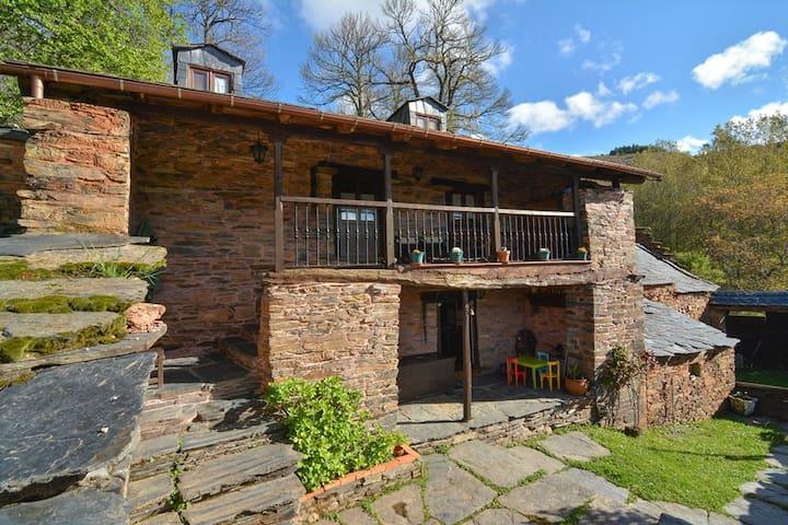 Casa Rural El Souto. *** El Bierzo (León) - Anllares del Sil - Hus