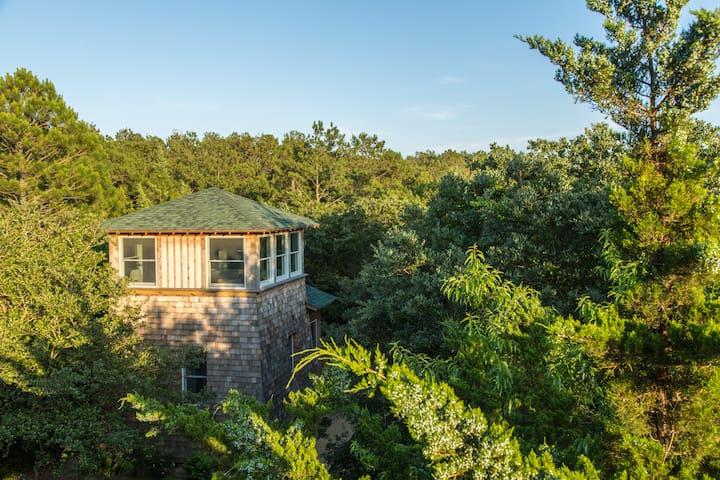 Sleep among the treetops at Treefrog Tower! - Nags Head - Maison