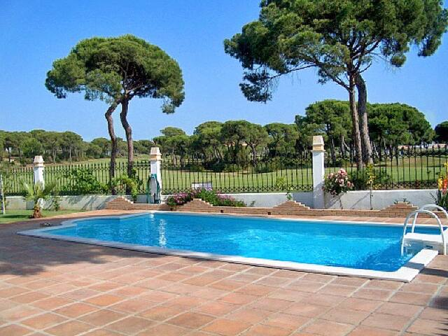 House with shared pool and garden - Huelva, Nuevo Portil - Hus