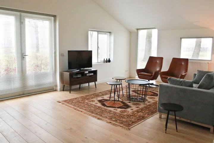 Spacious 125m2 country apartment near Den Bosch - Den Dungen - Departamento